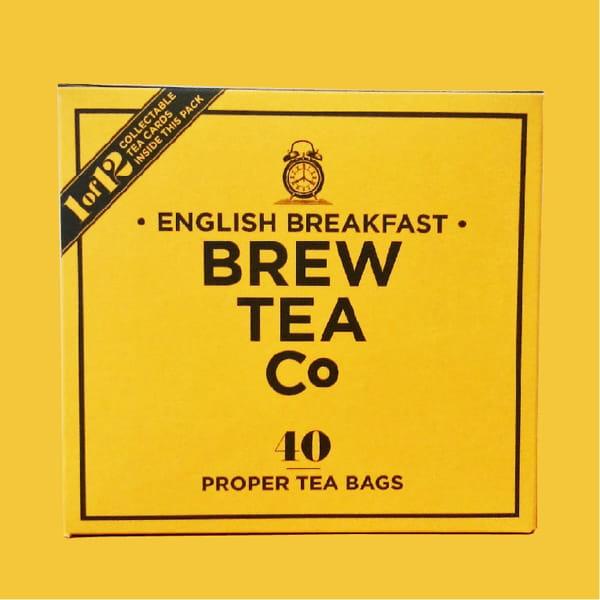 Brew Tea Co / イングリッシュブレックファースト40 TEA BAGS