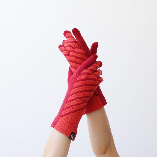 % / 手袋(Red60%Orenge40%)