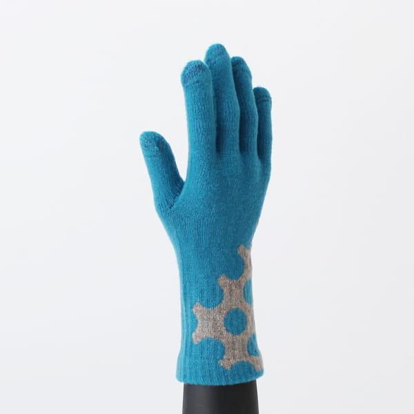 % / 手袋(Blue80%Gray20%)