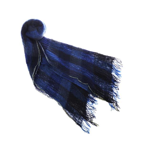 coova / 縮みタータンチェック(ブルー)