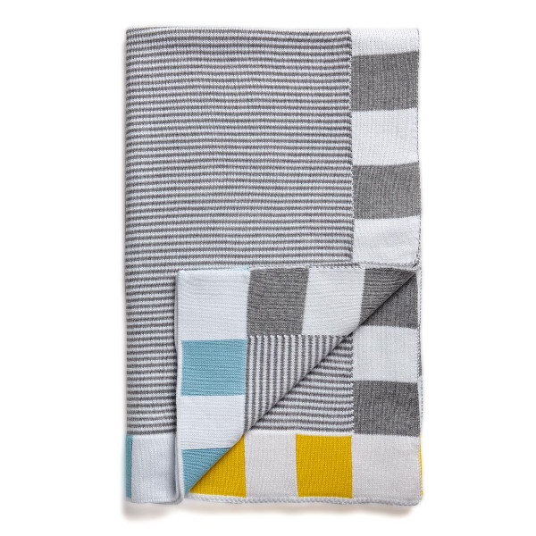 SUNDAY baby blanket Grey