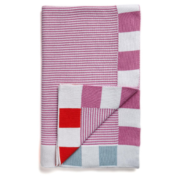 SUNDAY / baby blanket (Pink)