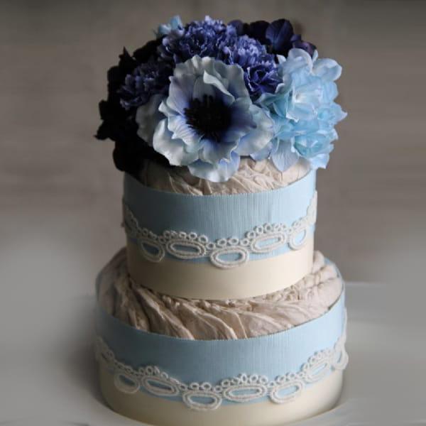 LAcouche(ラクーシュ) ダイパーケーキ(おむつケーキ) GRACE pinkGRACE blue