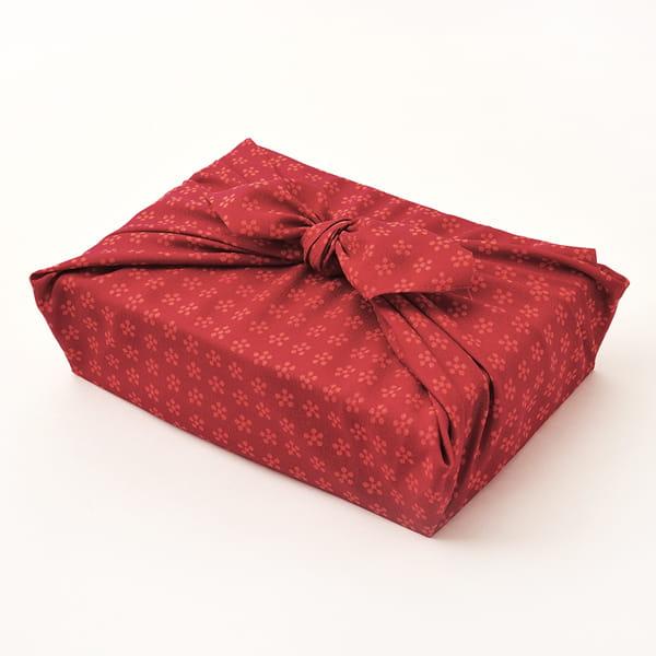 越後ファーム / 『出産内祝』名入れ木箱 2合キューブ6つ詰合せ(ふろしき包み)