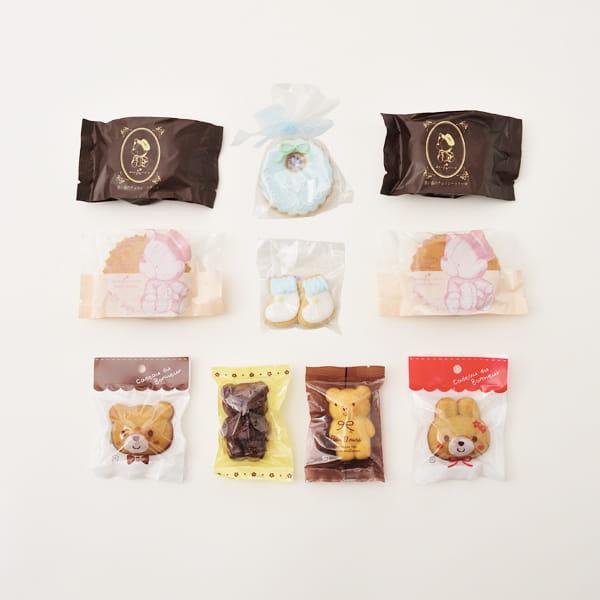 アニバーサリー / Hello Baby B(ブルー)【名入クッキー入】【焼き菓子詰合せ】