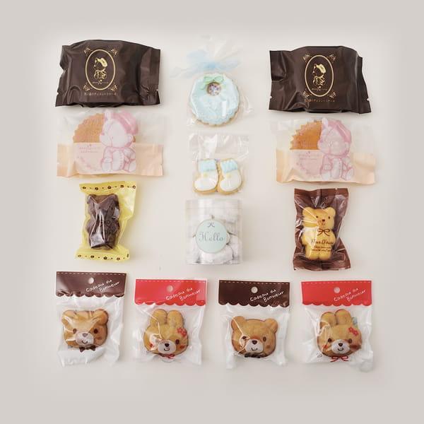 アニバーサリー / Hello Baby C(ブルー)【名入クッキー入】【焼き菓子詰合せ】