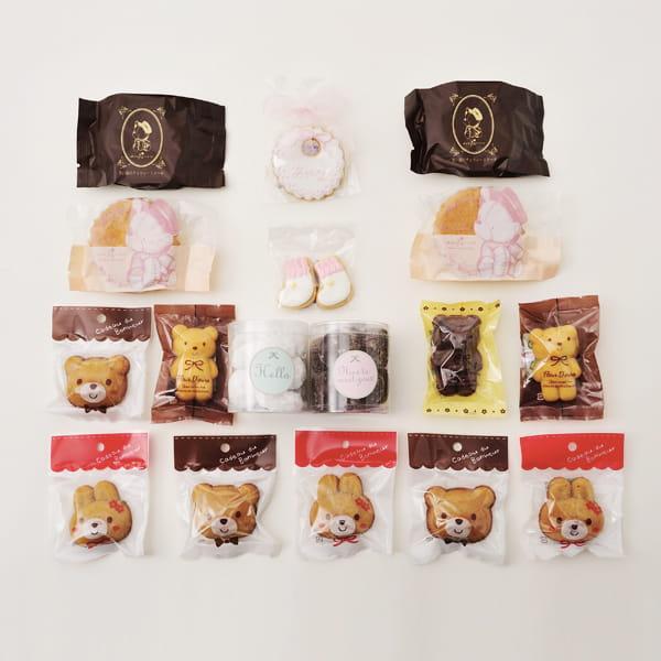 アニバーサリー / Hello Baby D(ピンク)【名入クッキー入】【焼き菓子詰合せ】