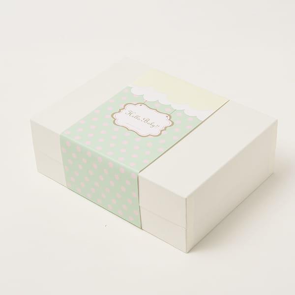 アニバーサリー / Hello Baby D(ブルー)【名入クッキー入】【焼き菓子詰合せ】