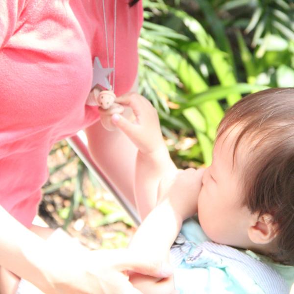 LA couche Pastel / Kiko+の木のおもちゃ&スワドルデザインズおくるみ付きオーガニックダイパーケーキ「chuchu」 グレー