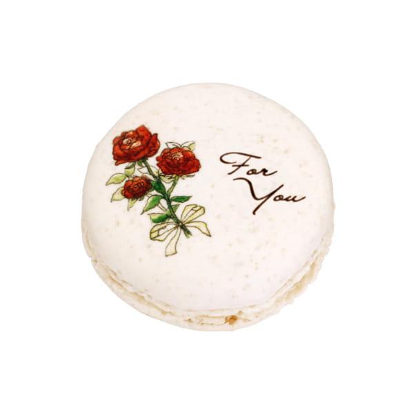 アンリ・シャルパンティエ / アンリ&シルビア ユヌ・ブロッシュ(マカロン1個)【バラ】5個以上でご注文ください