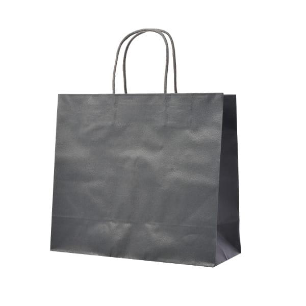 レザートーン ショッピングバッグ クールグレー(幅30×マチ12×高さ27cm)