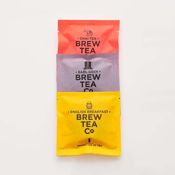 Brew Tea Co / TEA BAGS 紅茶 3コセット(イングリッシュブレックファースト、アールグレイ、チャイ)*
