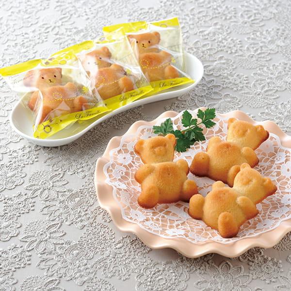 香川・ラ・ファミーユ / くまの蜂蜜フィナンシェ 14個入*