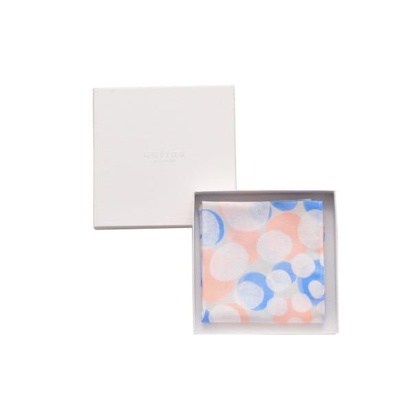 kayo aoyama / ハンカチ foam(ギフトBOX入)