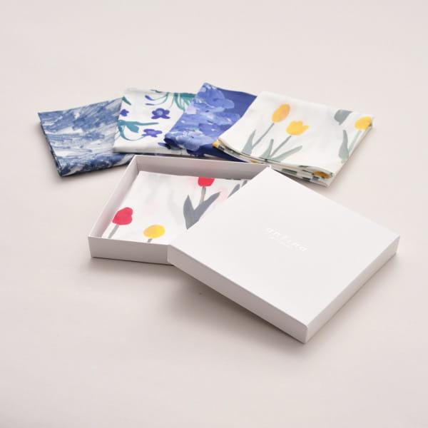 otsuki yumi / ハンカチ tulip(ギフトBOX入)