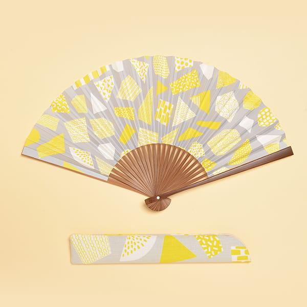 /fan/fun(ファンファン) / 京扇子 檸檬(女性用)