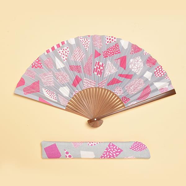 /fan/fun(ファンファン) / 京扇子 紅紫(女性用)