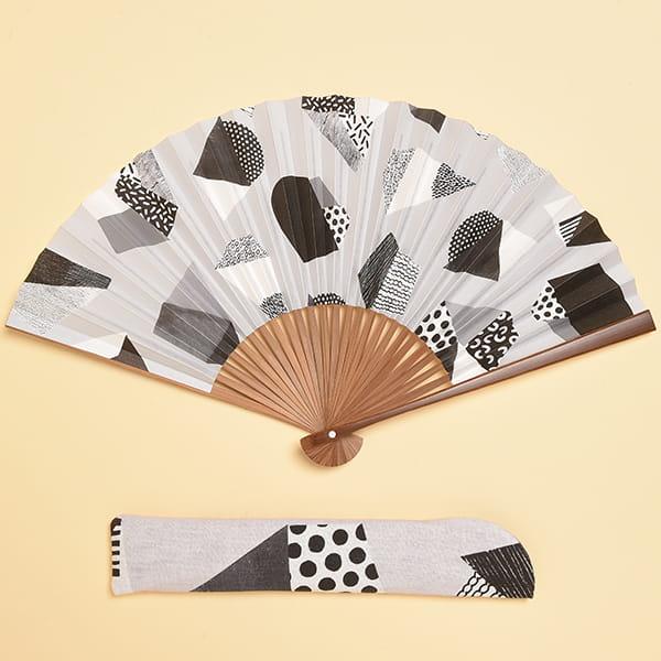 /fan/fun(ファンファン) / 京扇子 うす墨(男性用)