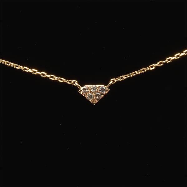 MANISTA / Lip(リップ)K10ダイヤモンドネックレス Tiny Motif ダイヤ
