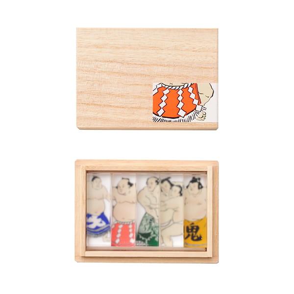 toumei / 関取 hashioki 木箱入り5個セット