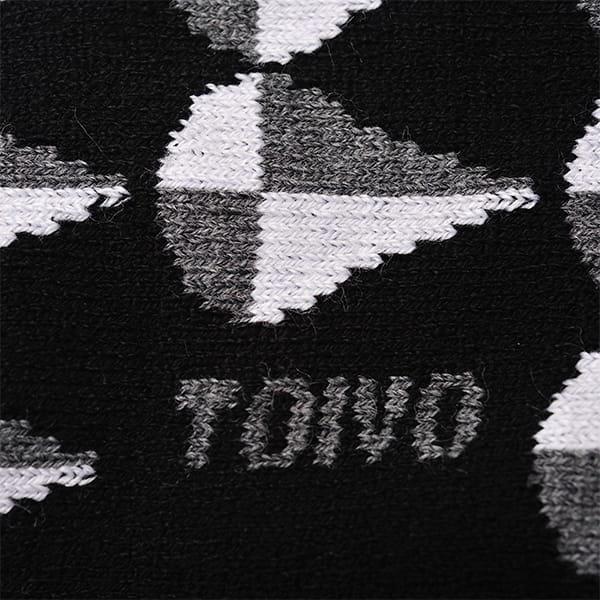 TOIVO / モコモコソックス(ドロップBK)
