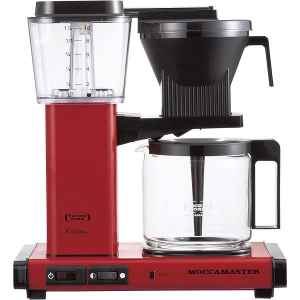 MOCCAMASTER / コーヒーメーカー(レッド)