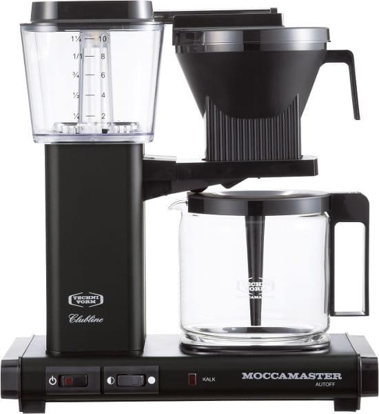 MOCCAMASTER / コーヒーメーカー(ブラック)