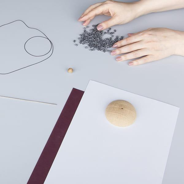 ファブラスグース / Nordicモミの木スタンドKitブルーM