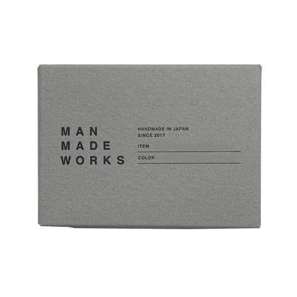 MAN MADE WORKS / カードケース(ナチュラル)