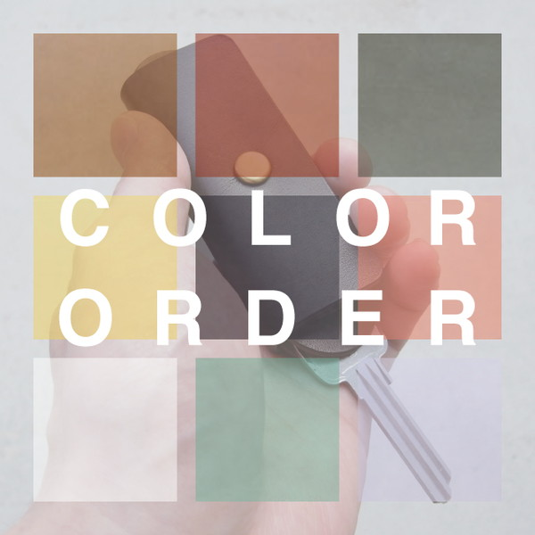 MAN MADE WORKS / キーケース(カラーオーダー)※仕上がりまで3週間 カラーは備考欄へ