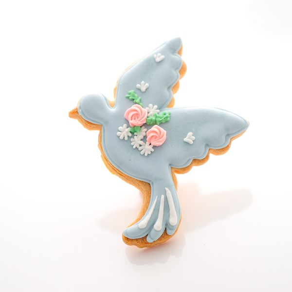 アイシングクッキー 青い鳥 20個以上でご注文ください*