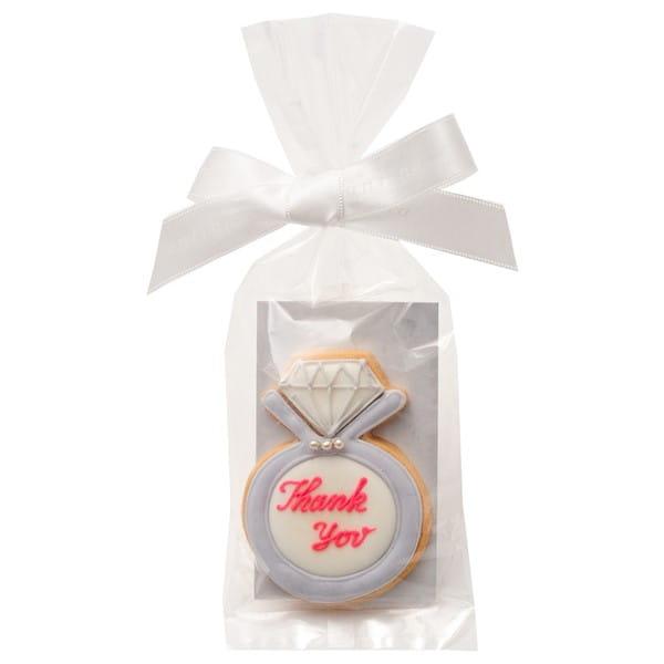 アイシングクッキー リング (Thankyou) 20個以上でご注文ください*