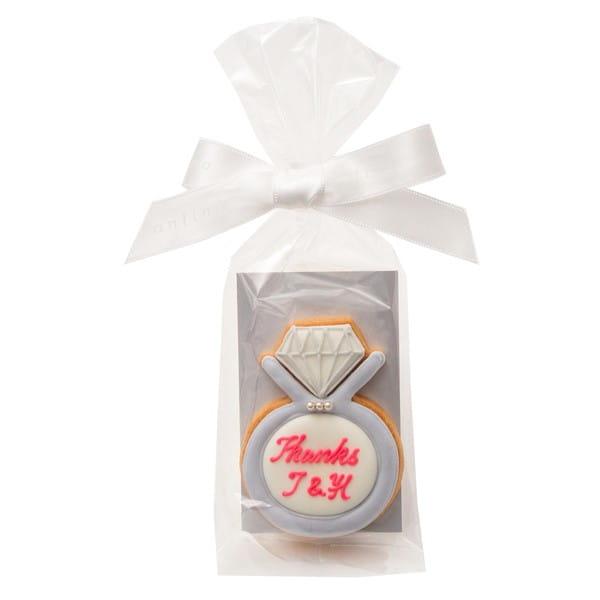 アイシングクッキー リング (名入れ商品※お名前は備考欄へ)20個以上でご注文ください*