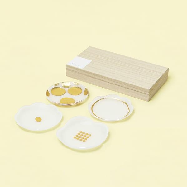toumei / 箔mamezara 4枚セット ろ