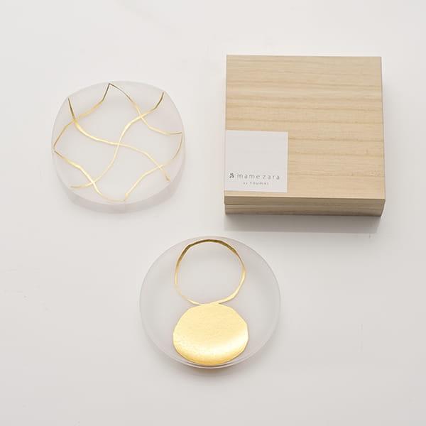 toumei / 箔mamezara 2枚セット い