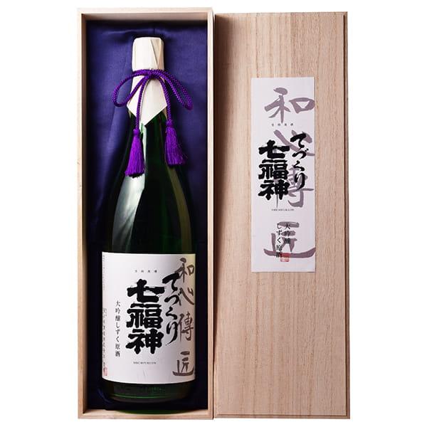 岩手・菊の司酒造 / 大吟醸 てづくり七福神 和心伝匠 1800ml