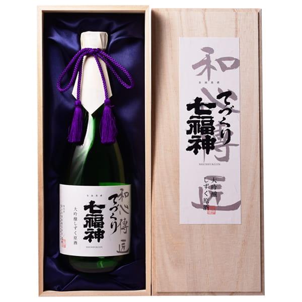 岩手・菊の司酒造 / 大吟醸 てづくり七福神 和心伝匠 720ml