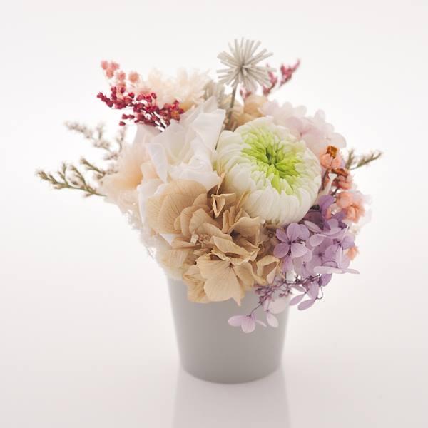 antina×アトリエみちくさ / プリザーブドフラワーお供花(L)