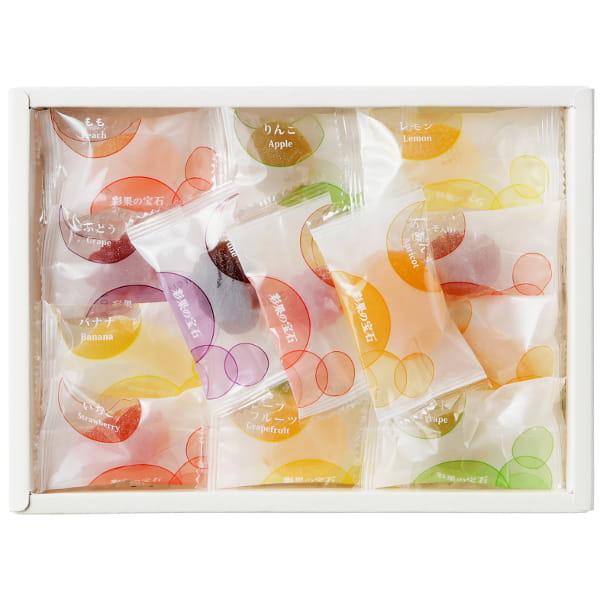 彩果の宝石 / フルーツゼリーコレクション15種25個*