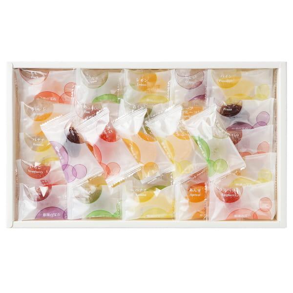 彩果の宝石 / フルーツゼリーコレクション15種75個*