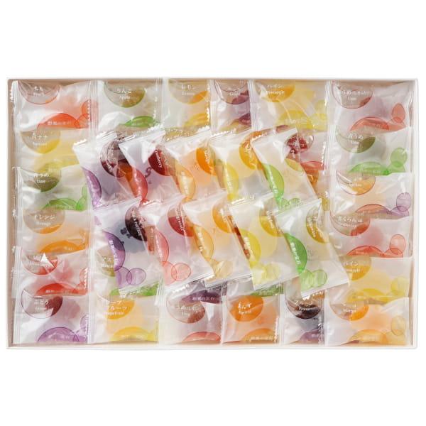 彩果の宝石 / フルーツゼリーコレクション28種92個*