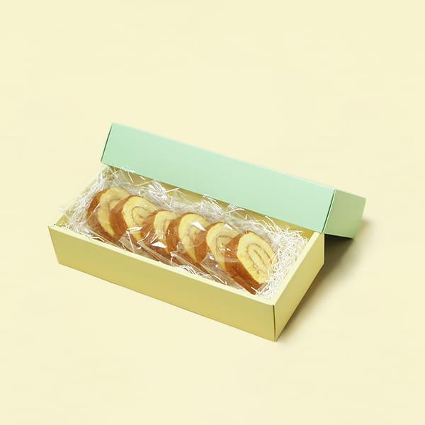 しっとり信州たまごロールケーキ 5個以上でご注文ください*