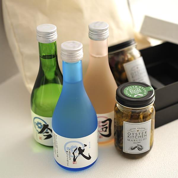 2020年父の日限定セットB(ソーシャルディスタン酒(シュ)セット・牡蠣オリーブオイル漬け・バッグ)※6/20~6/21にお届けします。