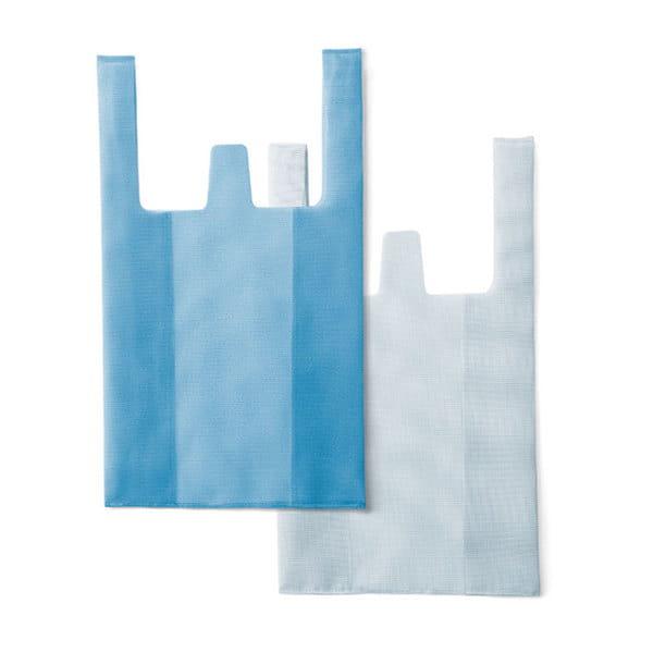 CONVENI BAG ブルー×ホワイト