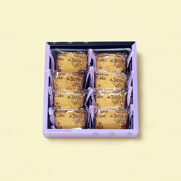 上野風月堂 / レーズンケーキ ※5個以上でご注文ください*
