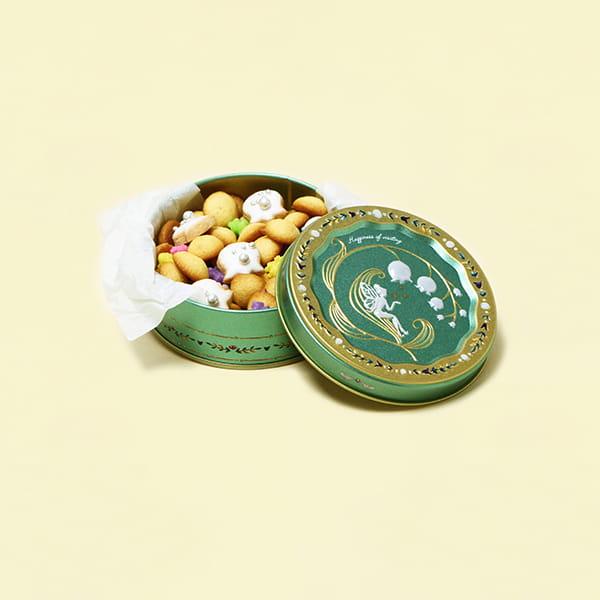 アンファン / スズランクッキー缶 ※5個以上でご注文ください*