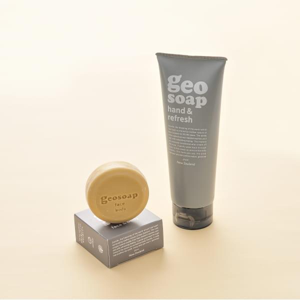 geosoap / ハンドソープ&石鹸セット