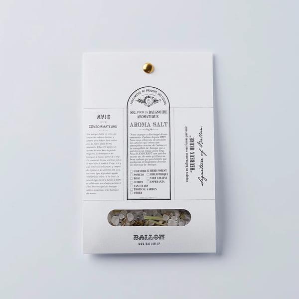 BALLON / アロマバスソルト ハーブフォレスト [トライアル]