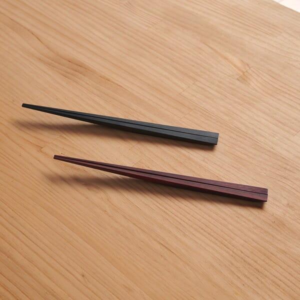 +d / 木の浮き橋 夫婦箸