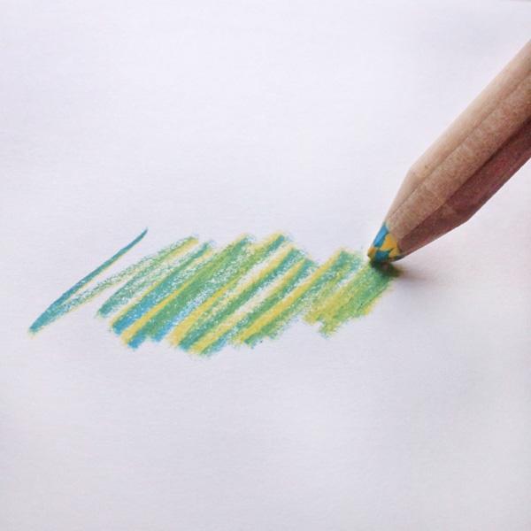ミックス色鉛筆20本